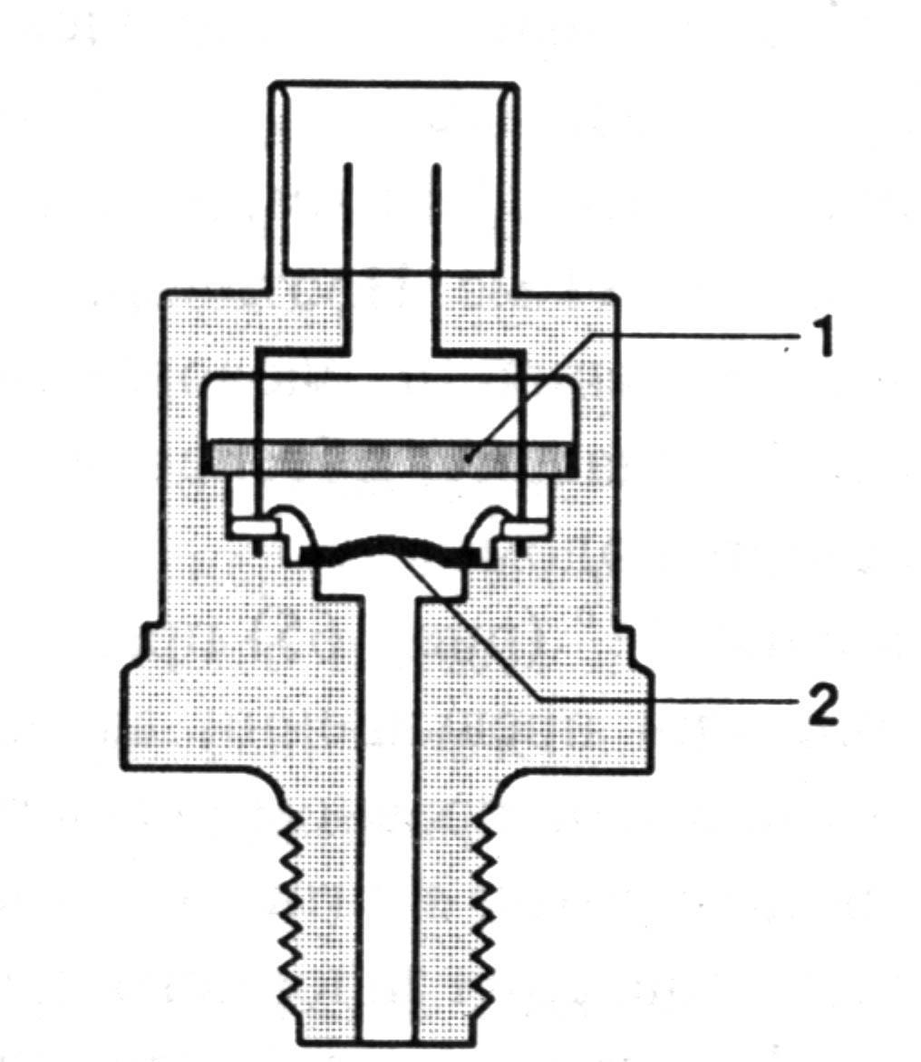 ...платы 1. Мембрана 2 приварена к корпусу и снабжена полупроводниковым первичным преобразователем.