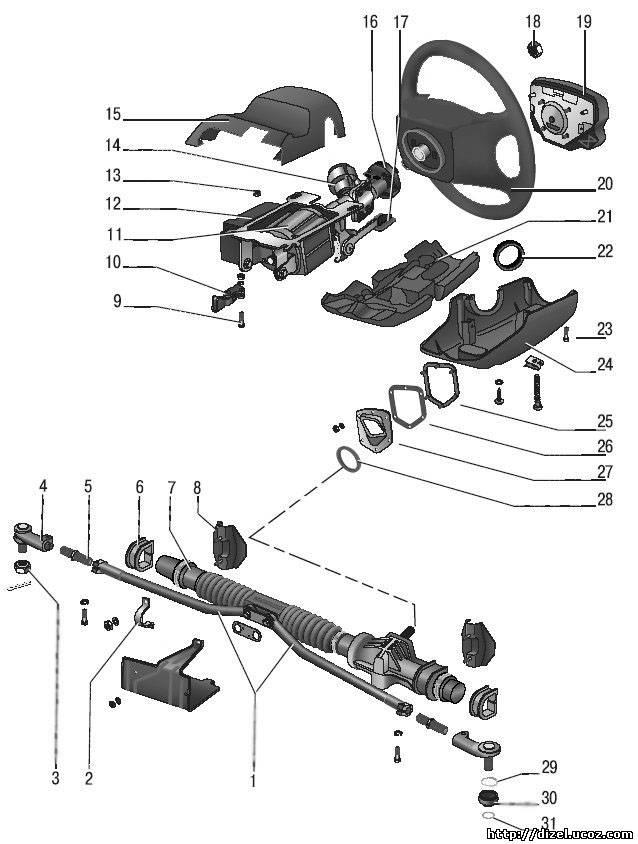 Рулевой механизм - Ремонт ВАЗ